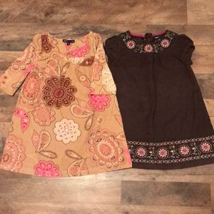 Brown/Fall GapKids dresses
